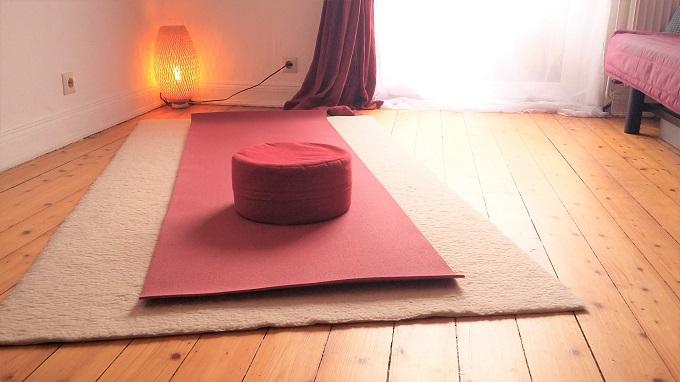 Anandi Yoga, Raum für Privatstunden
