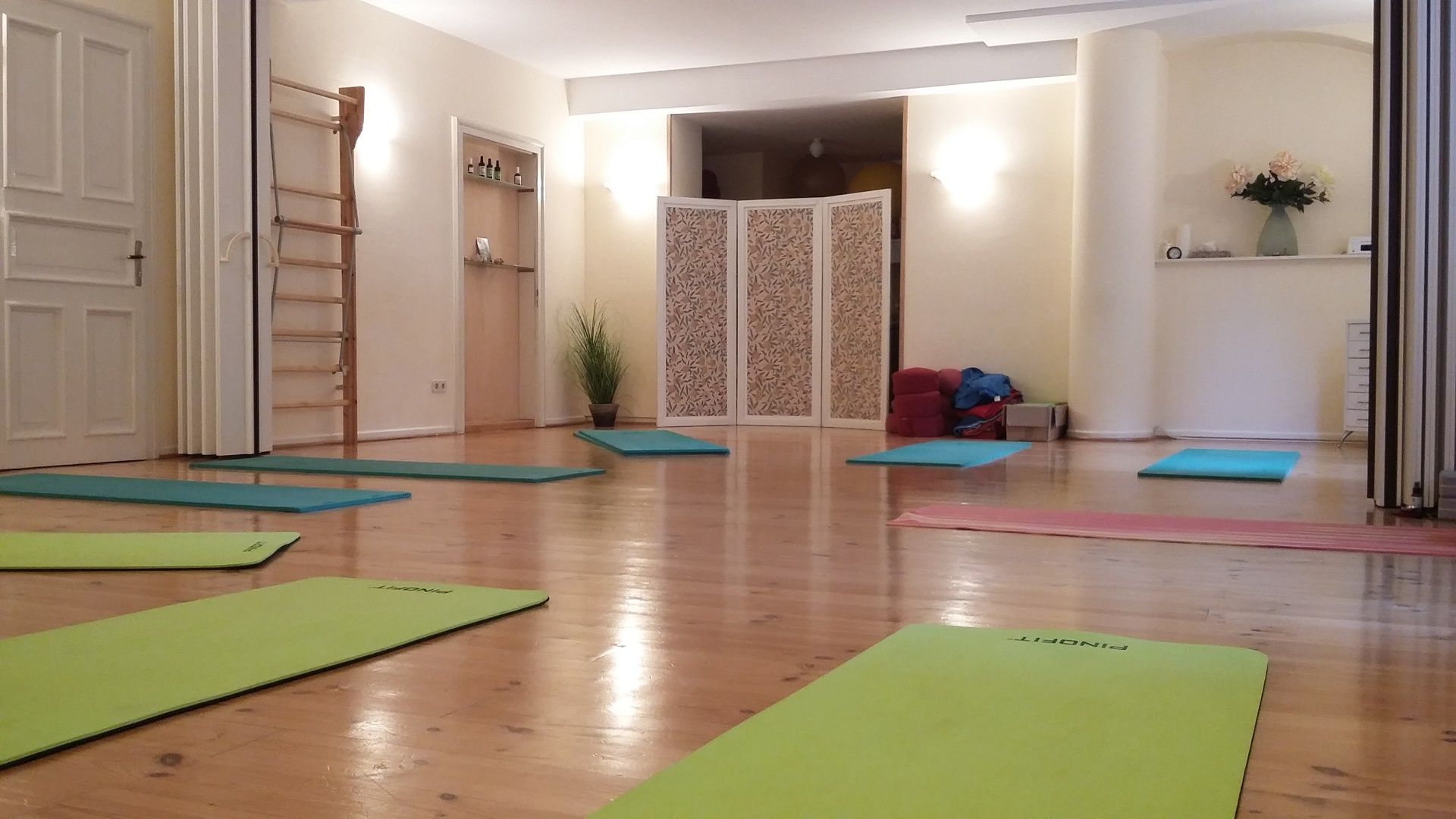 Anandi Yoga, Yogaraum
